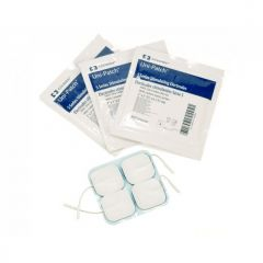 UniPatch Silver Carbon Blue Sensitive Tens Pads