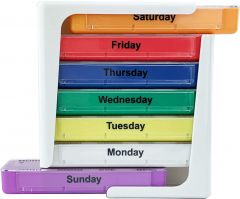 JFA Medical Weekly Stackable Pill Box Organiser/Reminder (28 compartments)
