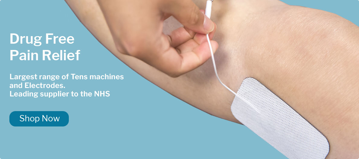 Drug Free  Pain Relief - Largest range of Tens machines  and Electrodes. Leading supplier  To the NHS